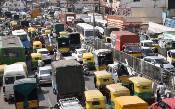 Bengaluru traffic slowest in India: report