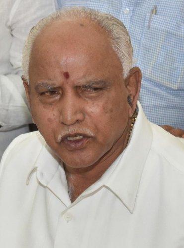 BSY challenges Ramalinga Reddy to prove BJP-PFI nexus remark