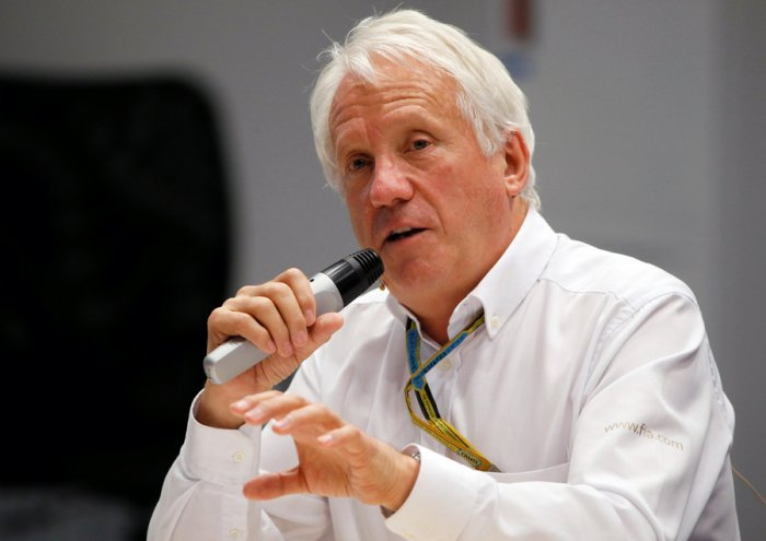 Charlie Whiting. Picture credit: Reuters