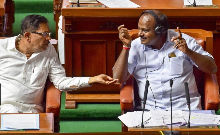 "The clip has Parameshwara say that he was ""still waiting for the day when JD(S) supremo H D Deve Gowda will consume poison."" The Deputy Chief Minister had made this remark during the 2014 Lok Sabha election campaign."