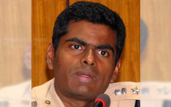 Annamalai is DCP of crime-hit Bengaluru South | Deccan Herald