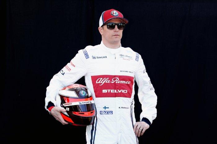 Kimi Raikkonen. Picture credit: Reuters