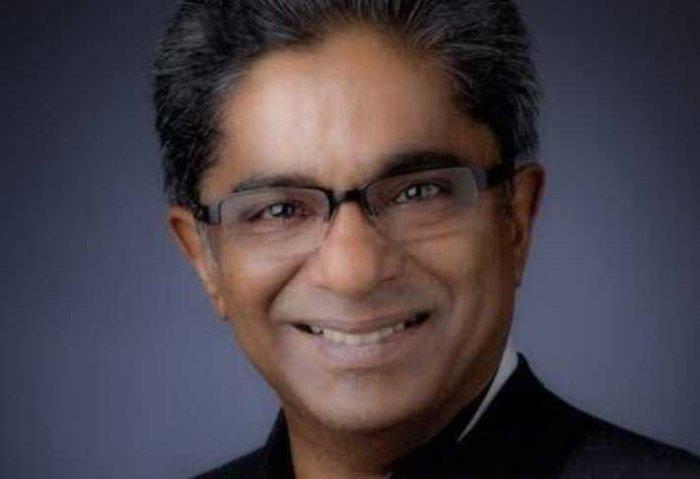 Rajiv Saxena (Image courtesy ANI/Twitter)