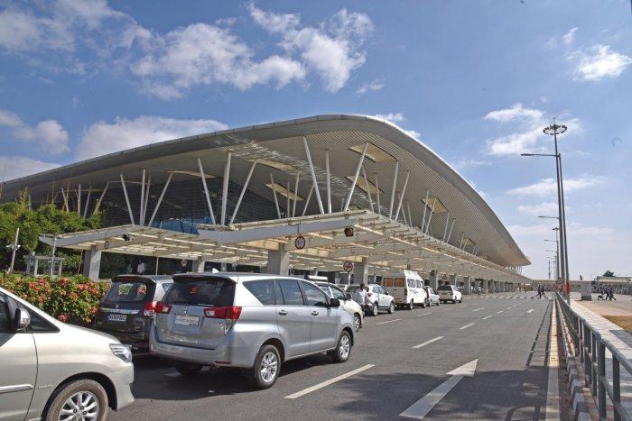 The Kempegowda International Airport at Devanahalli