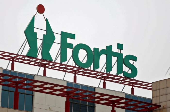 FILE PHOTO: A Fortis hospital building is pictured in Gurgaon, India, May 11, 2018. REUTERS/Saumya Khandelwal/File Photo