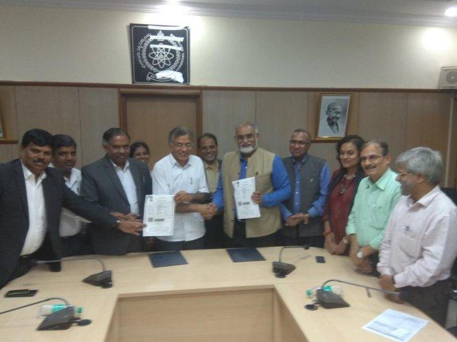 MoU between Bangalore university and IGNCA