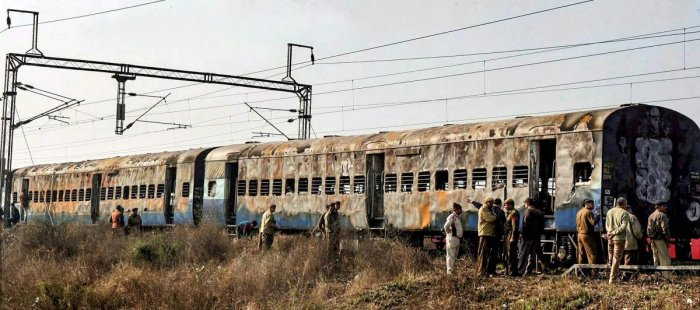The blast in Samjhauta Express had occurred near Panipat in Haryana on February 18, 2007, when the train was on its way to Attari in Amritsar, the last railway station on the Indian side. (PIT File Photo)