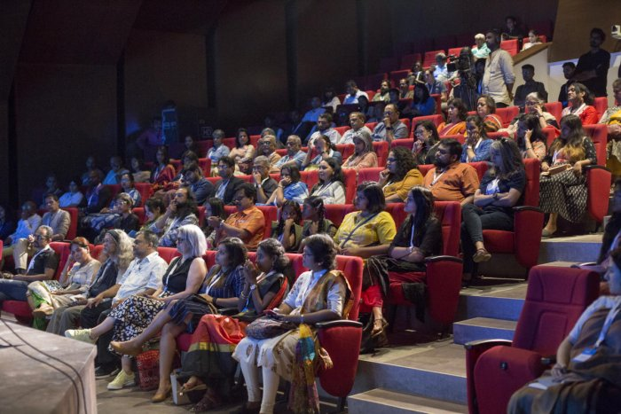 About 200 people participated in the event at Bangalore International Centre, Domlur.