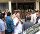 Yeddyurappa and sons appear before CBI Court