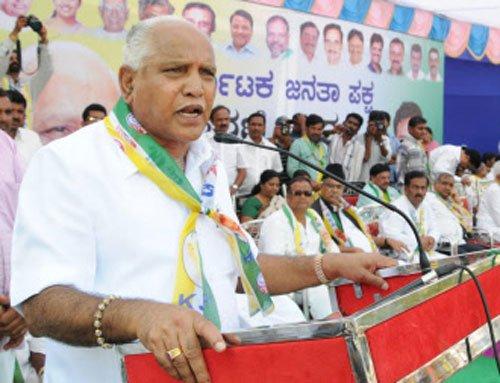 Yeddyurappa wants to join NDA, writes to Advani