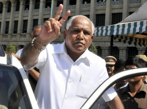 Will return to BJP, says Yeddyurappa