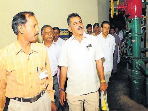 DKS visits Varahi project site