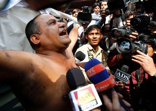 Man who threw ink on Subrata may face SC heat