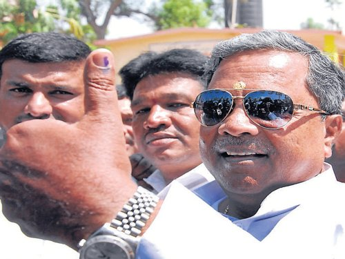 EC move to 'force me out' wrong: Siddaramaiah