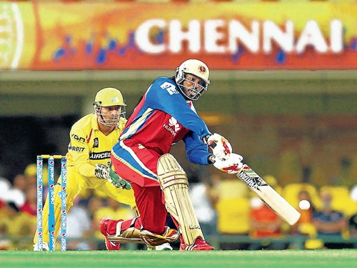 Royal Challengers scrape past Chennai