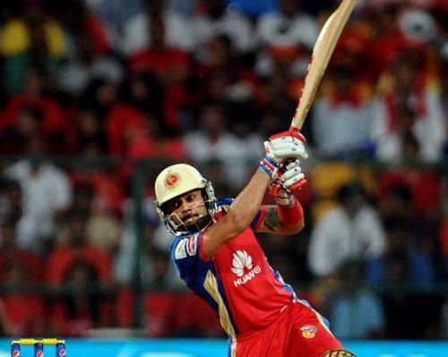 Kohli fires as RCB score 160 for six against Sunrisers
