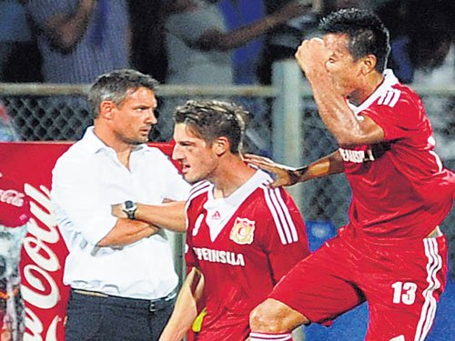 Pune FC dent BFC pride with convincing win