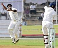 Karnataka bowlers call the shots