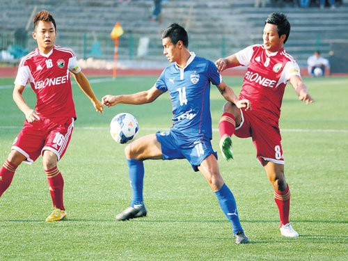 BFC suffer Shillong slip-up