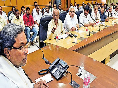 Delay in getting appointment with Modi upsets Siddaramaiah