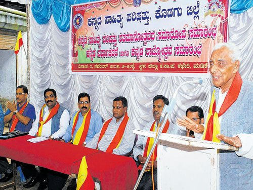 Contribution of non Kannadigas to the language is significant'