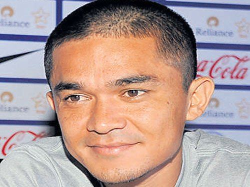Chhetri pleased with BFC's strong start to new season