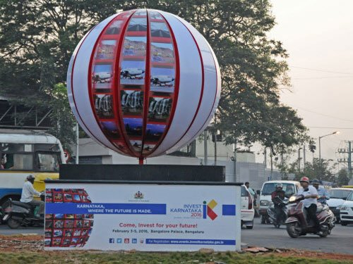 Precautionary measures in place for Invest Karnataka meet