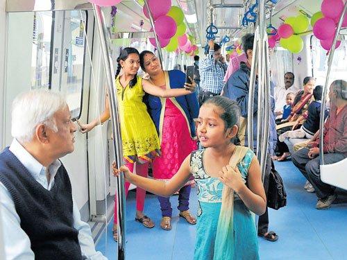 Namma Metro welcomes inter-modal transport system