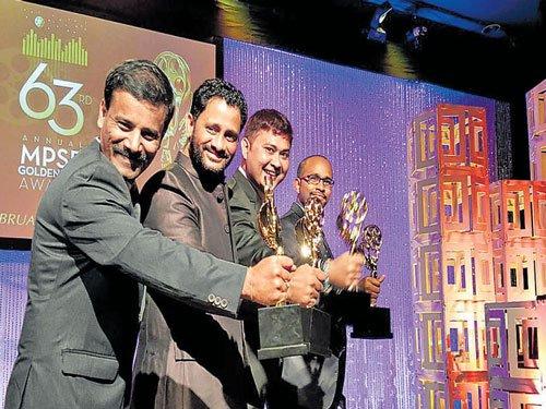 Kannadiga among Golden Reel awardees
