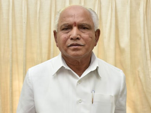 Yeddyurappa takes charge as state BJP chief, sets 150 seat target