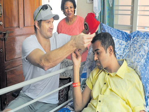 When Royal Challengers' speedster wished fan speedy recovery
