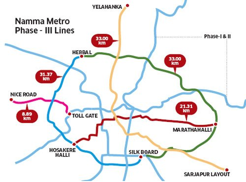 Namma Metro, a third phase in the making