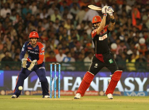 Kohli leads RCB to play-offs