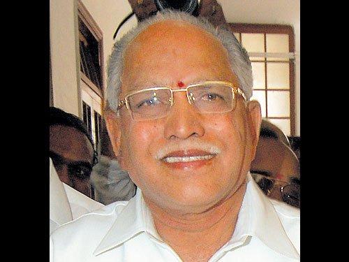 Yeddyurappa seeks CBI probe into police officers' suicides