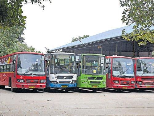 Normal life hit as transport unions in Karnataka strike work