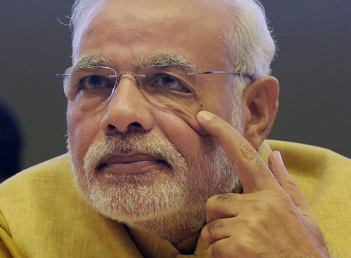 Modi's helicopter travel to SAUNI venue aborted due to bad weather