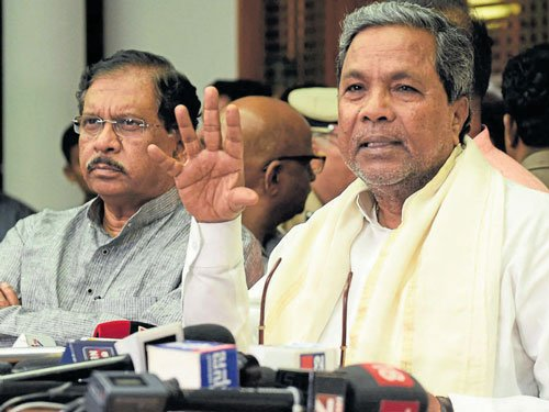 SC order on water release: Siddaramaiah reserves comments