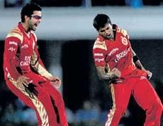 Royal Challengers crush Indians