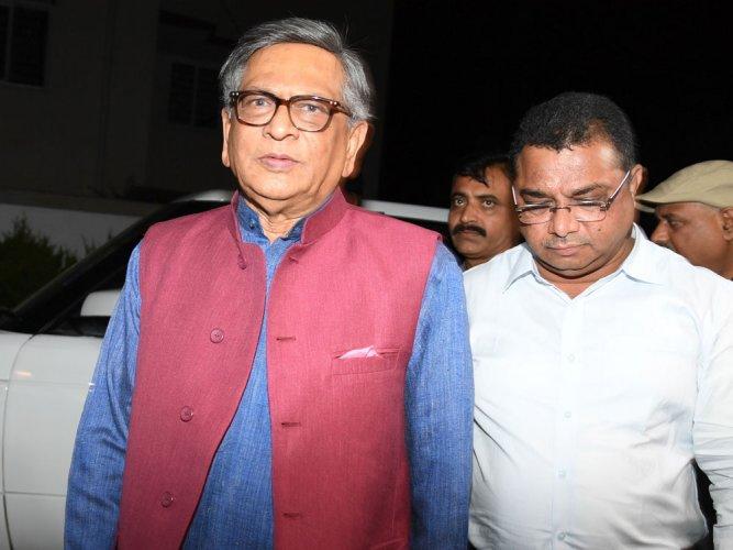 S M Krishna will join the BJP, says B S Yeddyurappa