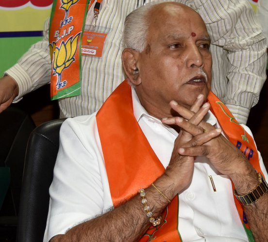 Yeddyurappa hints  at dropping another 'bombshell' about CM
