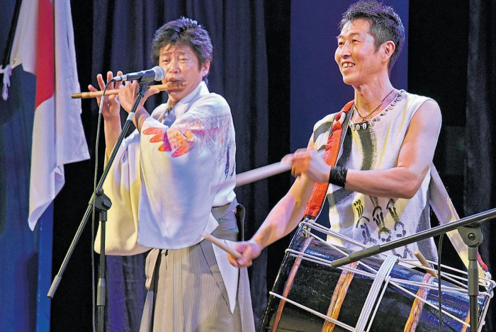 Japanese musicians enthral audience at 'Japan Habba'