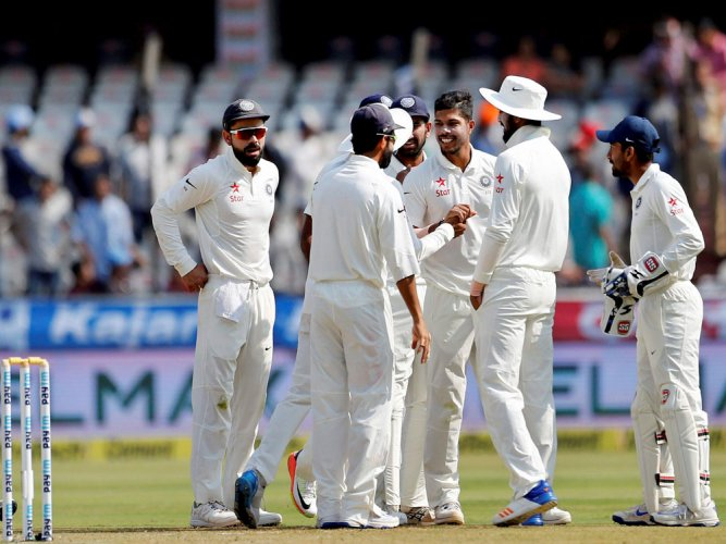 Bowlers turn on heat as India beat Bangladesh by 208 runs