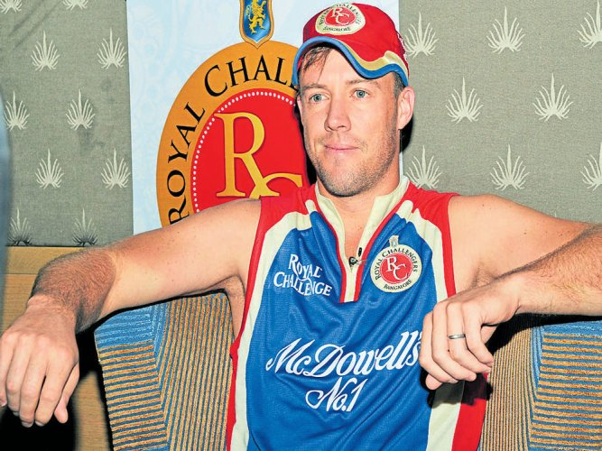 ABD a doubt for second RCB match