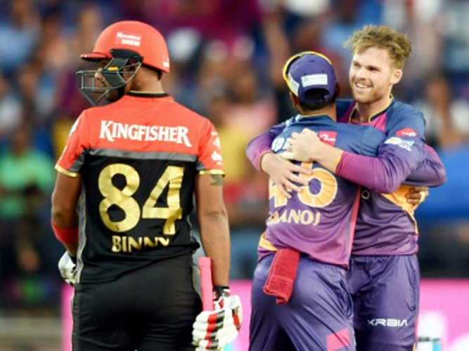 Pune close Play-offs door for RCB with emphatic 61-run win