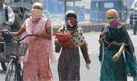 Heat wave hits 'sun city'