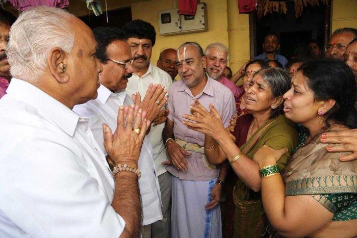 Bengaluru's road, drain funds have leaked, says Yeddyurappa