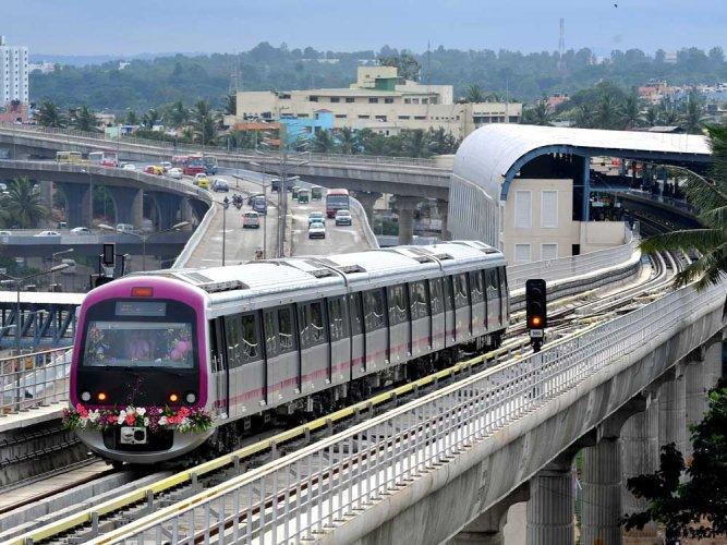 Namma Metro chugs into 7th year of operation