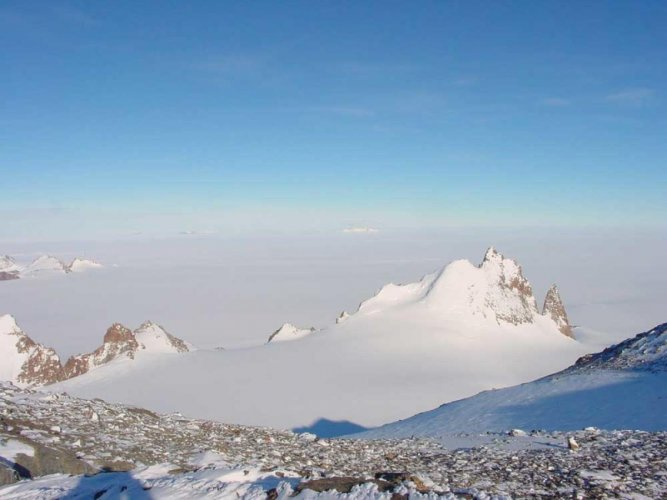 Heat source under Antarctica melting its ice sheet: NASA
