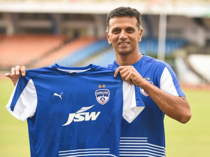 Dravid joins BFC in Ambassadorial role