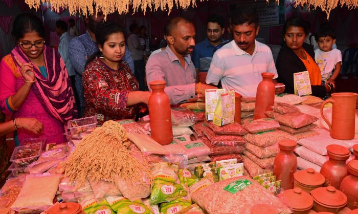 Healthy food theme of 2-day organic and millet mela